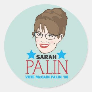 Palin Illustrated Sticker