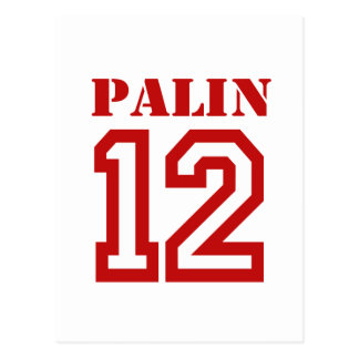 PALIN IN '12 POST CARD