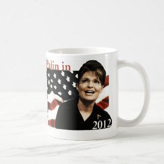 Palin in 2012 classic white coffee mug