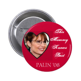 Palin Knows Best Pin