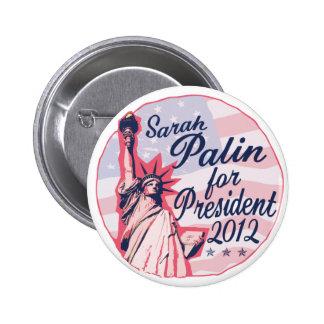 Palin Lady Liberty Button