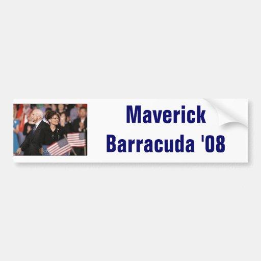palin, Maverick Barracuda '08 Bumper Sticker