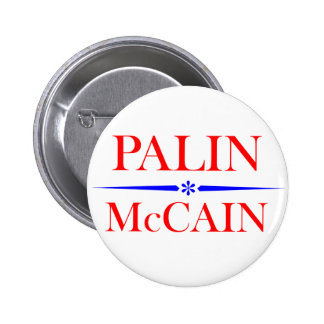 Palin Mccain Button