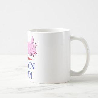 Palin, McCain, Pig Lipstick Mug