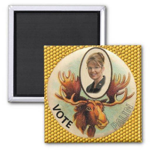 Palin Moose Magnet