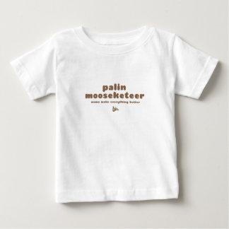 Palin Mooseketeer Baby T-Shirt