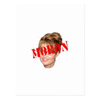Palin Moron Postcard