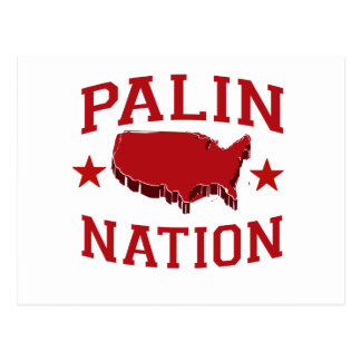 PALIN NATION POST CARDS