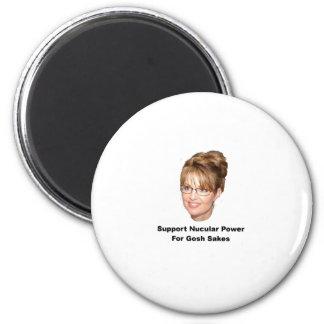 Palin Nucular Power Magnet