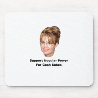 Palin Nucular Power Mouse Pad