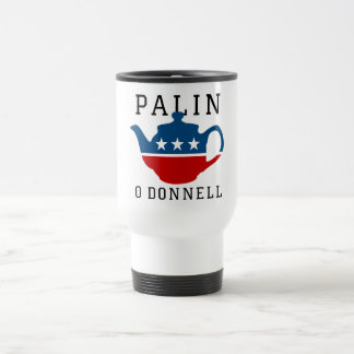 Palin / O'Donnel 2012 15 Oz Stainless Steel Travel Mug