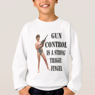 Palin on Gun Control 2012 Sweatshirt