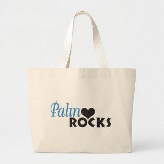 Palin oscila mi corazón bolsa de tela grande