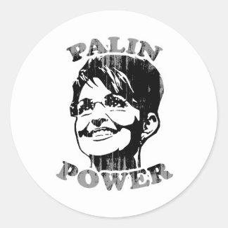Palin Palin Power Faded png Sticker