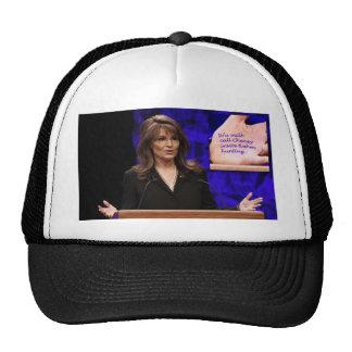 Palin Palm Reader Trucker Hat