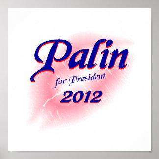 Palin para el poster 2012 de Prez