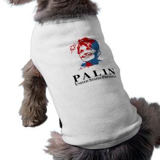 Palin para el presidente de Estados Unidos Prenda Mascota