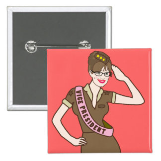Palin Pinup Style Button