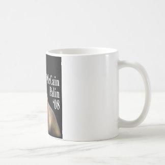 Palin Pitbull Coffe Cup Classic White Coffee Mug