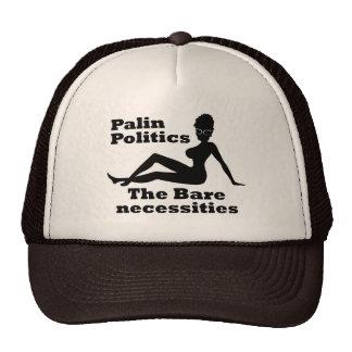 Palin Politics Mesh Hats