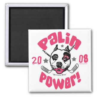Palin Power 2008 2 Inch Square Magnet
