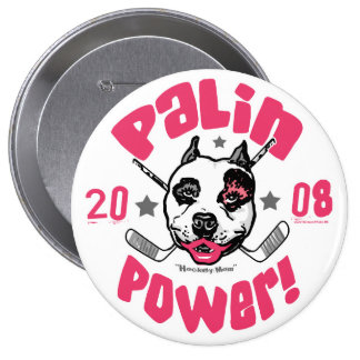 Palin Power 2008 Pinback Button