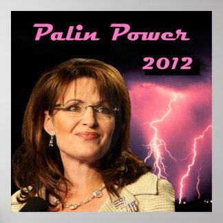 Palin Power 2012 Poster