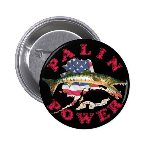 Palin Power 2 Inch Round Button