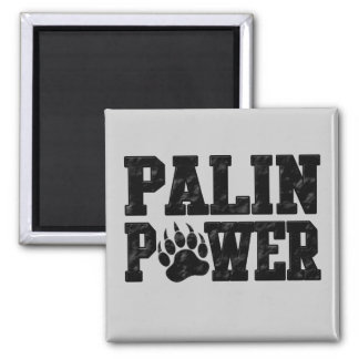 Palin Power 2 Inch Square Magnet