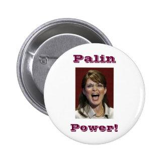 Palin Power! -button 2 Inch Round Button