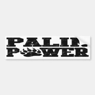 Palin Power Car Bumper Sticker