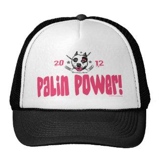 Palin Power Hockey Mom 2012 Trucker Hat