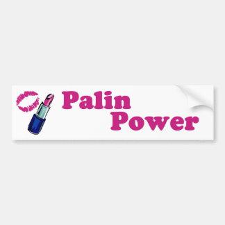 Palin Power Lipstick Bumper Sticker