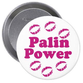 Palin Power Lipstick Button