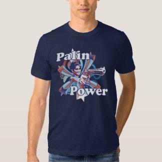 Palin Power Navy T Shirt