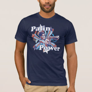 Palin Power Navy T-Shirt