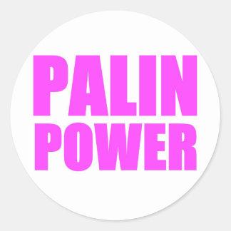 Palin Power Sarah Palin Tshirts Sticker