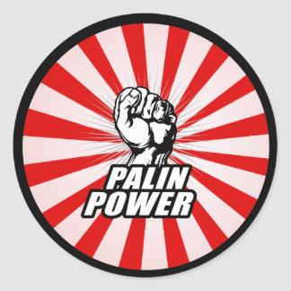 Palin Power Sticker