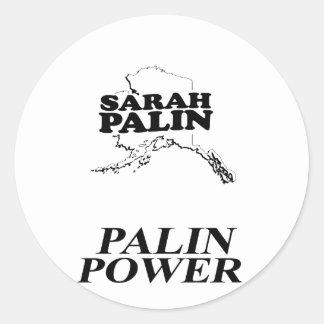 Palin Power Stickers