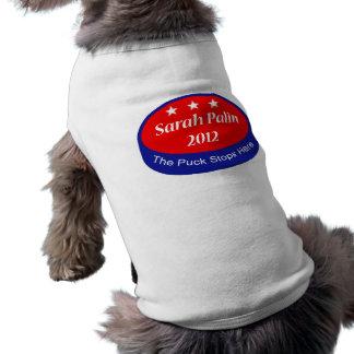 Palin que el duende malicioso para aquí camisetas de perro