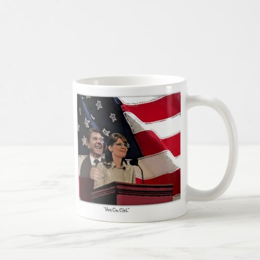 Palin-Reagan Classic White Coffee Mug
