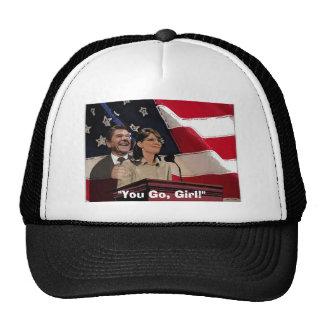 "Palin-Reagan, ""You Go, Girl!"" Mesh Hat"
