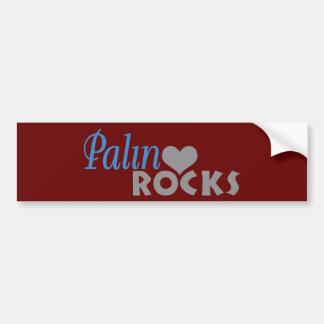 Palin Rocks My Heart Bumper Sticker