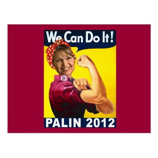 Palin Rosie 2012 el poster del remachador Postal