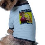 Palin Rosie 2012 el poster del remachador Camisas De Perritos