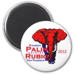Palin Rubio 2012 Magnet