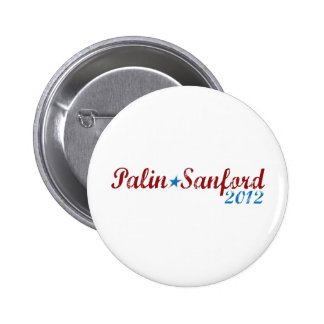 palin sanford 2012 pinback button