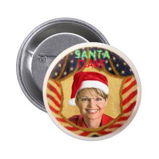 Palin Santa Claws Button