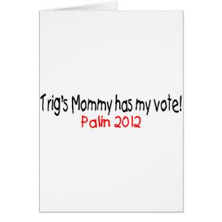 Palin-Trig's Mom Has My Vote Card