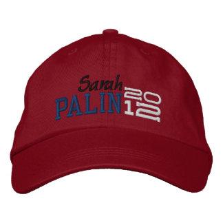Palin veinte doce 2012 gorra de beisbol